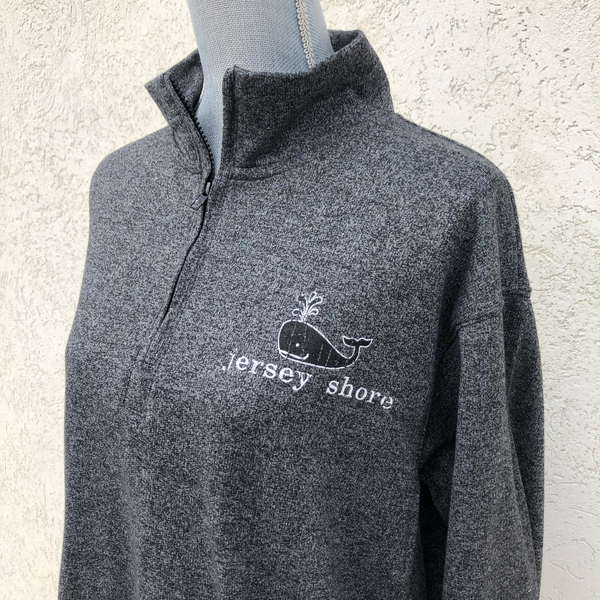 Jersey Shore Quarter Zip Sweatshirt (Two Color Options)