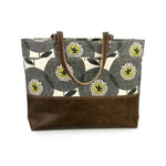 Carryall Tote in Flowerfields Canvas