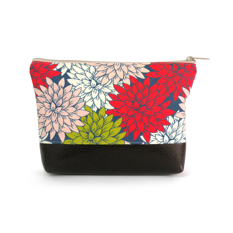 Cosmetic Clutch in Tropical Bright Floral