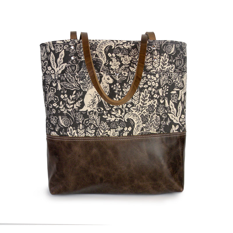 Urban Tote in Woodland Print