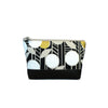 Cosmetic Clutch in Navy/Gold Floral