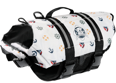 Paws Aboard Nautical Dog Lifejacket