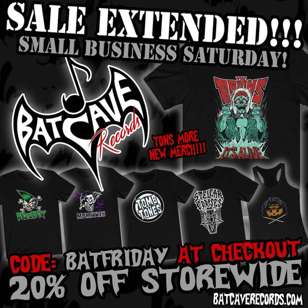 Sale Extended for Small Business Saturday!