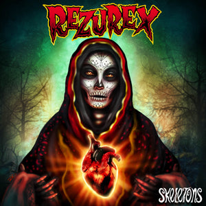 Rezurex - Skeletons - Psychobilly Batcave Records Cleopatra Records