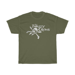 THIRSTY CROWS LOGO TEE