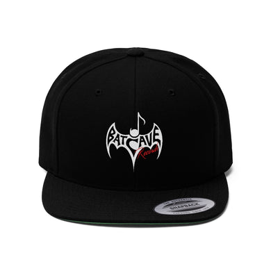 BATCAVE LOGO FLAT BILL HAT
