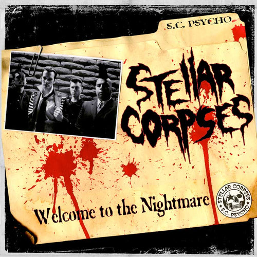 Stellar Corpses - Welcome To The Nightmare CD