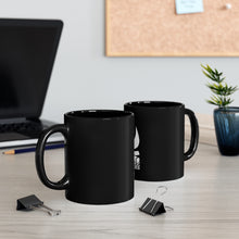 Load image into Gallery viewer, CAMPFIRE SHITKICKERS BLACK MUG