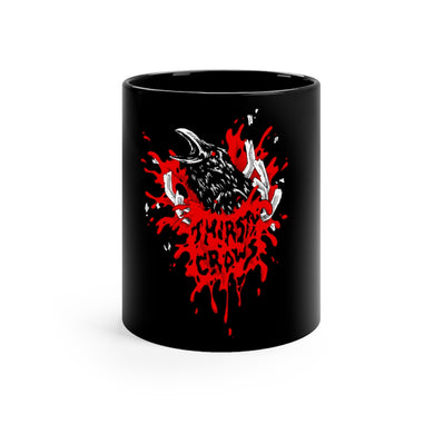 THIRSTY CROWS BUSTER MUG