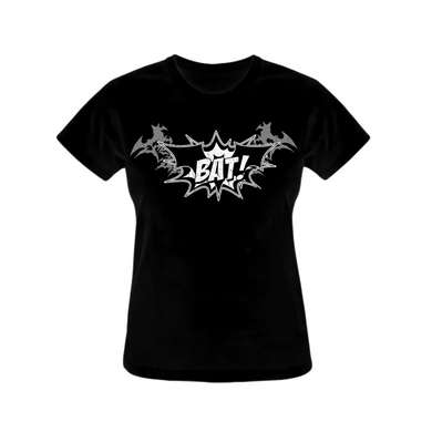 BAT! WOMEN'S LOGO TEE