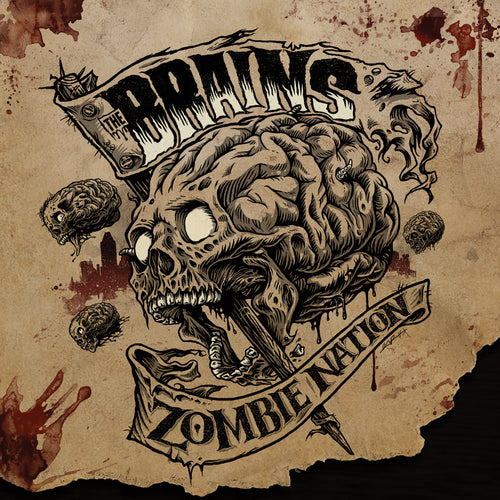 The Brains - ZombieNation CD