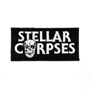 "Stellar Corpses - Embroidered 5"" Rectangle Patch"