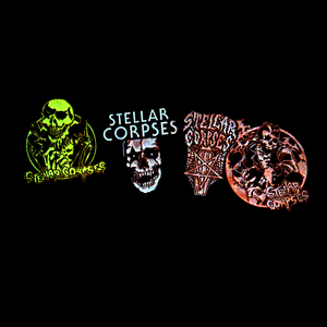Stellar Corpses - Glow in the Dark Enamel Pins
