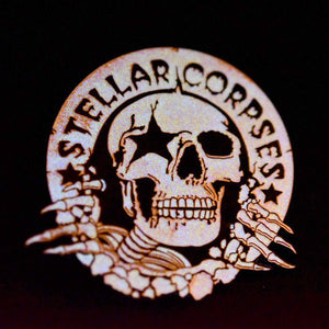 Stellar Corpses - Buster Enamel Pin (Glow in the Dark!)