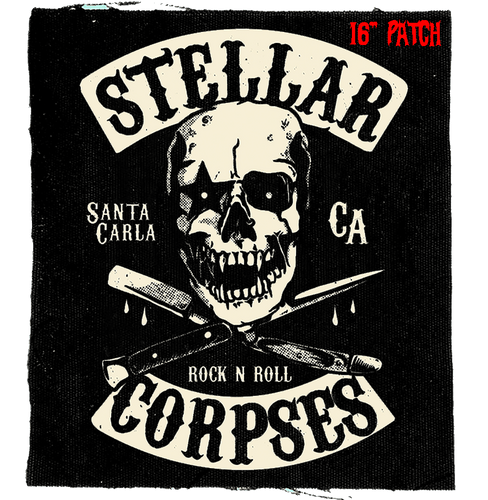 Stellar Corpses Santa Carla Buster Back Patch