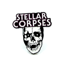 Load image into Gallery viewer, Stellar Corpses - Glow in the Dark Enamel Pins