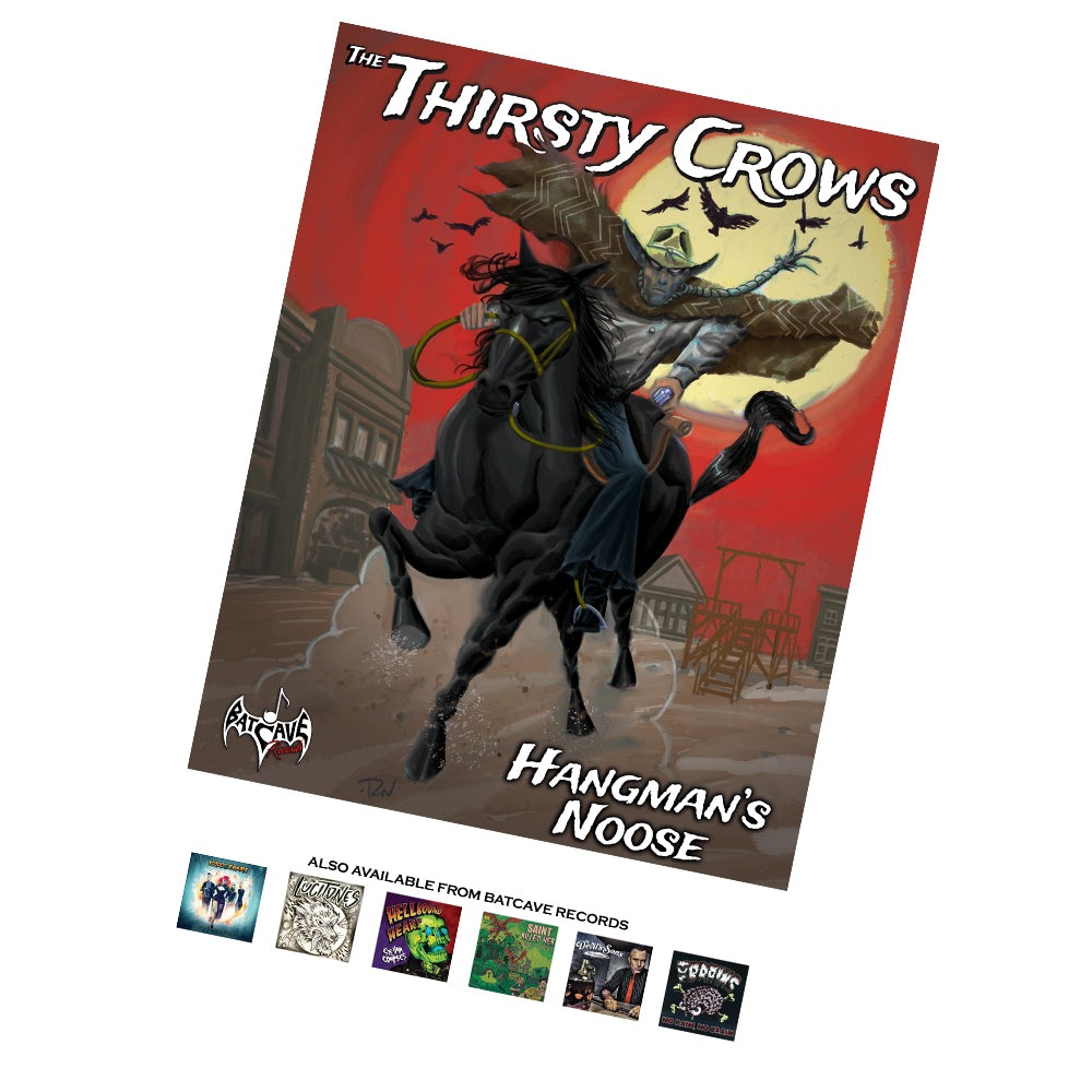 The Thirsty Crows - Hangman's Noose Poster