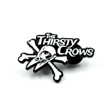 Load image into Gallery viewer, The Thirsty Crows - Glow in the Dark Enamel Pin