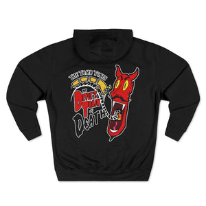"THE TOMB TONES ""DEVIL'S TRAIN"" PULLOVER HOODIE"