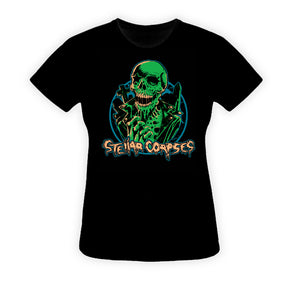 Stellar Corpses - Women's Buster Zombie T-Shirt