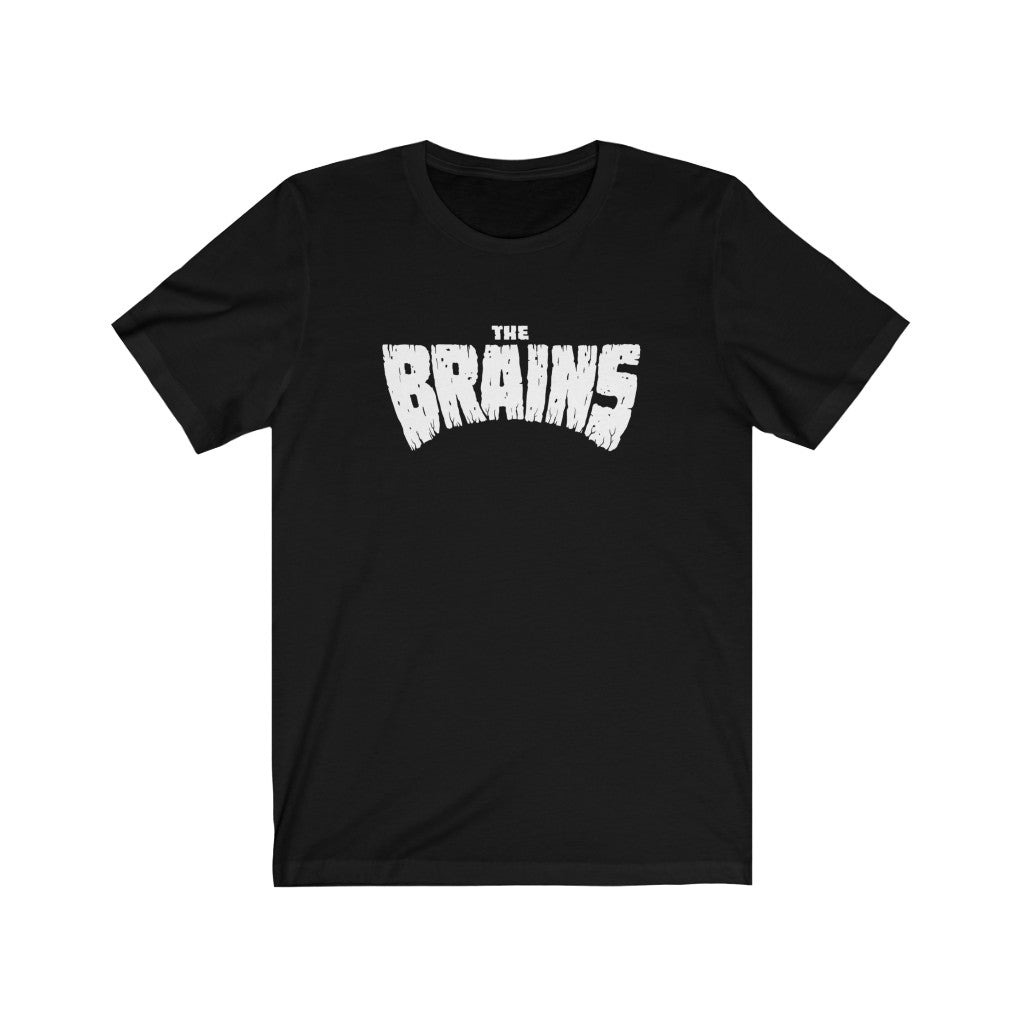 THE BRAINS LOGO TEE