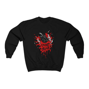 "THIRSTY CROWS ""BUSTER"" CREWNECK"