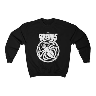 THE BRAINS 'SATANA TARANTULA'  CREWNECK