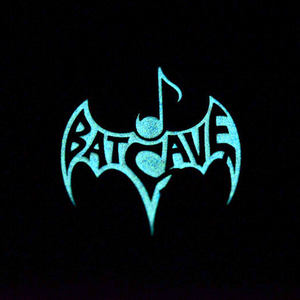 Batcave Records - Glow in the Dark Enamel Pin