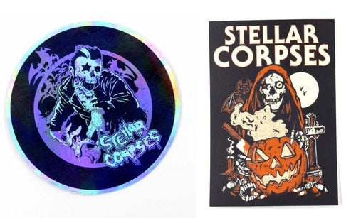 Stellar Corpses - Stickers
