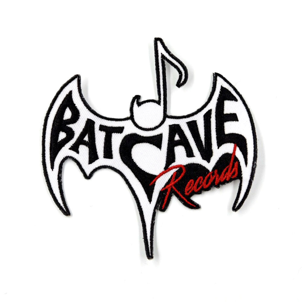 Batcave Records - Embroidered Patch