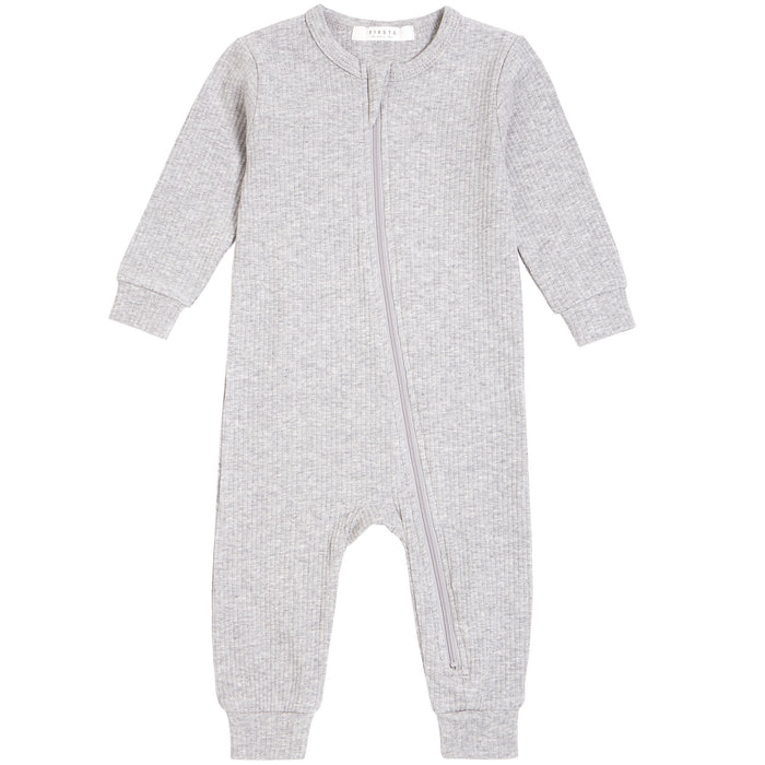 Petit Lem Knit Playsuit Heather Grey
