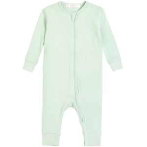 Petit Lem Knit Playsuit Light Green
