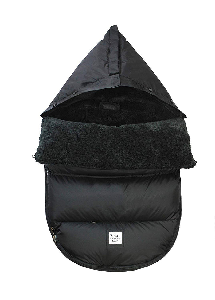 7AM Plush Pod Black 18M-3Y