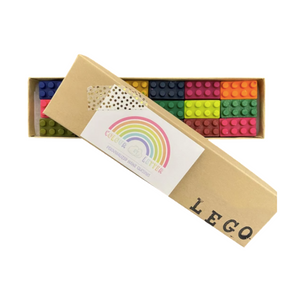 Colour by Letter Lego Set