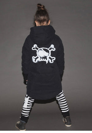 Nununu Sprayed Skull Down Parka