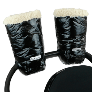 7AM Enfant Warmmuffs Polar Black