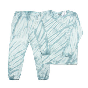 Coccoli Blue Tie-Dye Loungewear