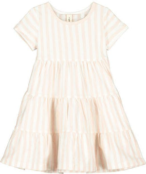 Vignette Iona Dress Pink Stripe