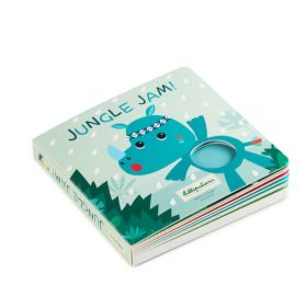 Lilliputtens Jungle Jam Touch Book