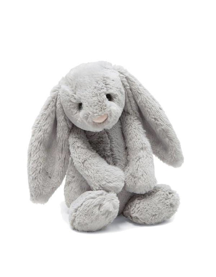 JellyCat Bashful Grey Bunny Medium
