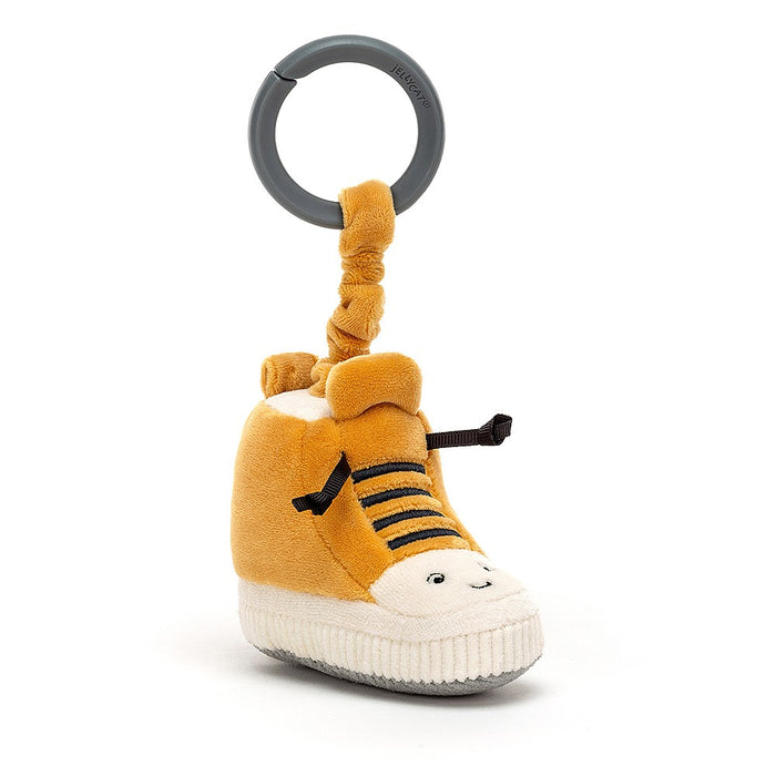 JellyCat Kicketty Sneaker Stroller Toy