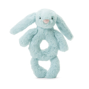 Jellycat Bashful Beau Bunny Ring Rattle