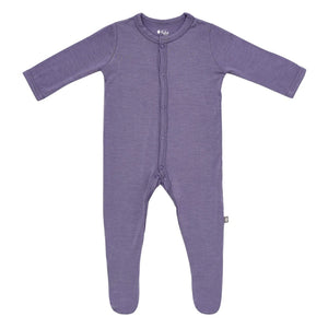 Kyte Baby Snap Footie Orchid