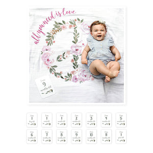 Lulujo Baby's First Year- All you Need is Love