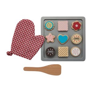 Mudpie Cookie Sheet Wood Play Set