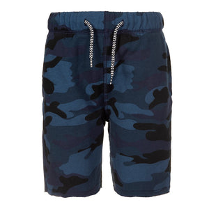 Appaman Navy Camo Camp Short