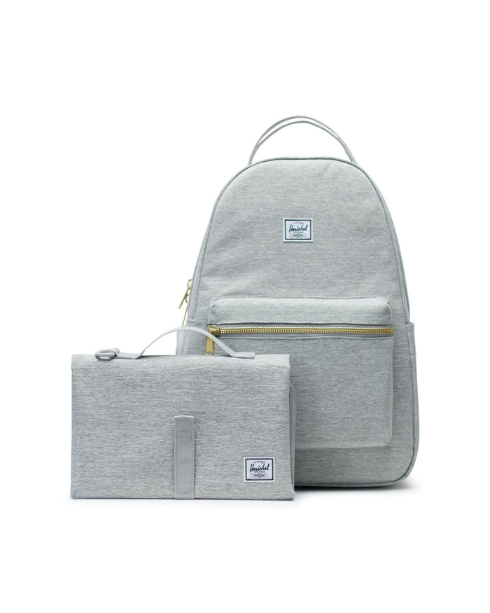 Herschel Supply Nova Sprout Diaper Bag Light Grey
