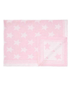 Tots Fifth Avenue Star Blanket Pink