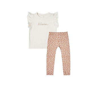 Rylee and Cru Bloom Tee and Leggings Set