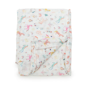 Loulou Lollipop Swaddle Unicorn Dream